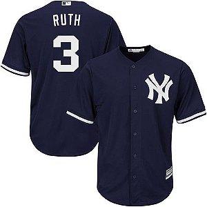 Jersey - 3 Babe Ruth - New York Yankees - MASCULINA