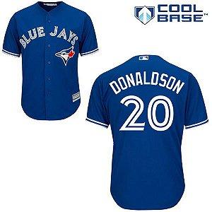 Jersey - 20 Josh Donaldson - Toronto Blue Jays - MASCULINA