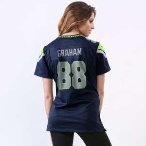 Jersey - 88 Jimmy Graham - Seattle Seahawks - FEMININA