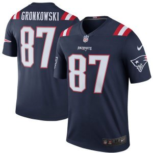Jersey - 87 Rob Gronkowski  - New England Patriots - Color Rush