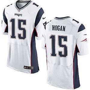 Jersey - 15 Cris Hogan - New England Patriots - MASCULINA
