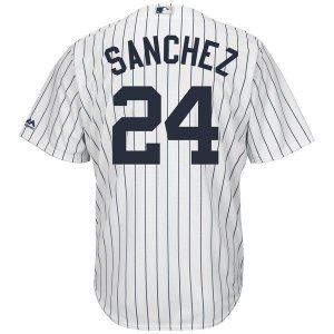 Jersey - 24 Gary Sanchez - New York Yankees - MASCULINA
