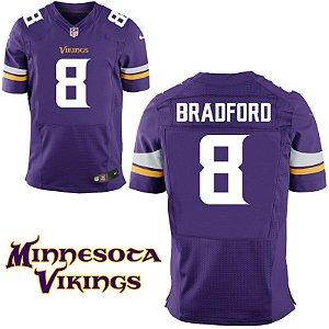 Jersey - 8 Sam Bradford -  Minnesota Vikings - MASCULINA