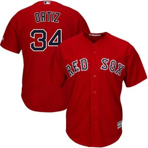 Jersey - 34 David Ortiz - Boston Red Sox - MASCULINA