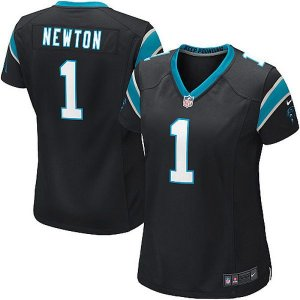 Jersey - 1 Cam Newton - Carolina Panthers  - FEMININA