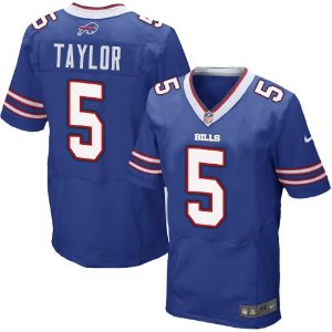 Jersey - 5 Tyrod Taylor - Buffalo Bills
