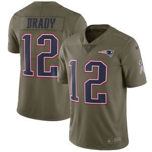 Jersey - 12 Ton Brady  - Salute to Service -  New England Patriots