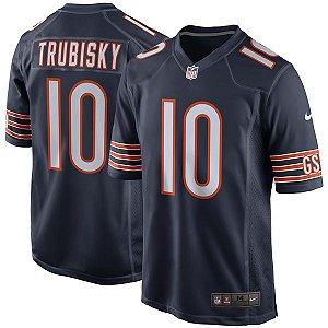 Jersey - 10 Mitchell Trubisky - Chicago Bears