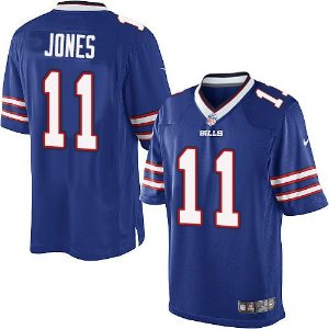 Jersey - 11 Zay Jones - Buffalo Bills