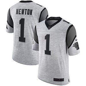 Jersey - 1 Cam Newton - Carolina Panthers  - Gridiron Gray