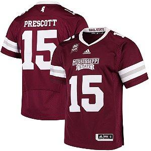 Jersey - Dak Prescott  - Mississippi State Bulldogs - NCAA
