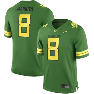 Jersey - 8 Marcus Mariota - Oregon Ducks - NCAA