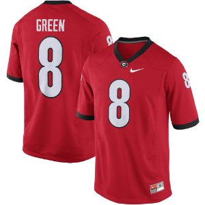 Jersey - 8 A.J. Green  - Georgia Bulldogs - NCAA