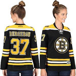 Jersey  - 37 Patrice Bergeron - Boston Bruins - Feminina