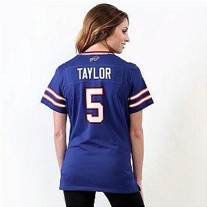 Jersey - 5 Tyrod Taylor - Buffalo Bills - Feminina