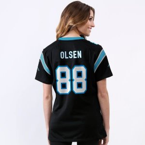 Jersey - 88 Greg Olsen - Carolina Panthers  - FEMININA