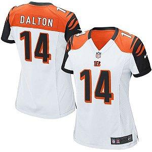 Jersey - 14 Andy Dalton - Cincinnati Bengals - Feminina