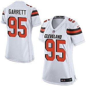 Jersey - 95 Myles Garrett - Cleveland Browns - Feminina