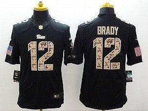 Jersey - 12 Tom Brady  - Salute to Service