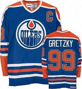 Jersey - 99  Gretzky - Edmonton Oilers - CCN