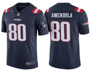 Jersey - 80 Danny Amendola  - New England Patriots - Color Rush