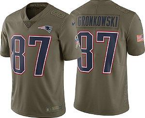 Camisa - 87 Rob Gronkowski - New England Patriots