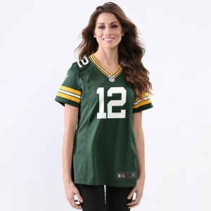 Camisa - 12 Aaron Rodgers - Green Bay Packers - FEMININA