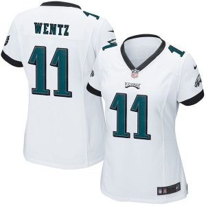 Camisa - 11 Carson Wentz - Philadelphia Eagles - FEMININA