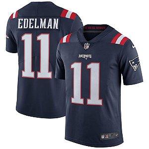 Camisa - 11 Julian Edelman - New England Patriots - Color Rush - MASCULINA e FEMININA