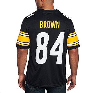 Camisa - 84 Antonio Brown - Pittsburgh Steelers