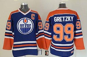Camisa - 99 Wayne Gretzky - Edmonton Oilers