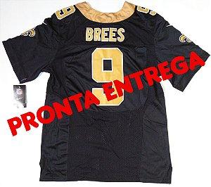 Camisa New Orleans Saints - 9 Drew Brees - PRONTA ENTREGA