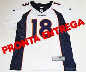 Camisa Denver Broncos - 18 Peyton Manning - PRONTA ENTREGA