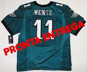 Camisa Philadelphia Eagles - 11 Carson Wentz - PRONTA ENTREGA
