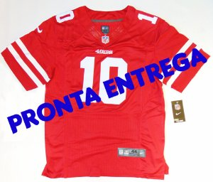 Camisa San Francisco 49ers - 10 Jimmy Garoppolo - PRONTA ENTREGA