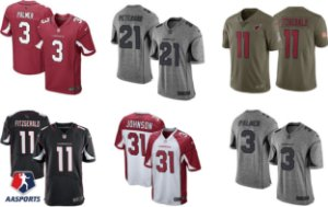 Camisa Arizona Cardinals - 3 Carson Palmer - 11 Larry Fitzgerald - 21 Patrick Peterson - 31 David Johnson