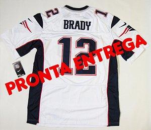 Camisa New England Patriots - 12 Tom Brady - PRONTA ENTREGA