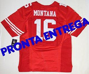 Camisa San Francisco 49ers - 16 Joe Montana - PRONTA ENTREGA