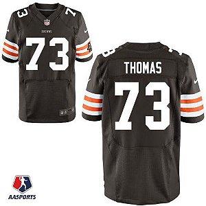 Camisa Cleveland Browns - 73 Joe Thomas - Edições especiais
