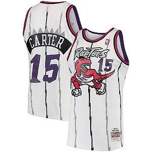 Camisa Toronto Raptors - 15 Vince Carter - 1 Tracy McGrady