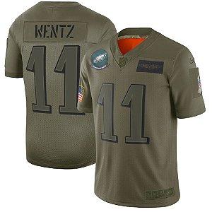 Camisa Philadelphia Eagles - 11 Carson Wentz - 86 Zach Ertz  - 20 Brian Dawkins