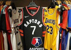 Camisa Toronto Raptors - 2 Kawhi Leonard - 7 Kyle Lowry