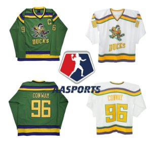 Camisa Anaheim Mighty Ducks - 96 Charlie Conway