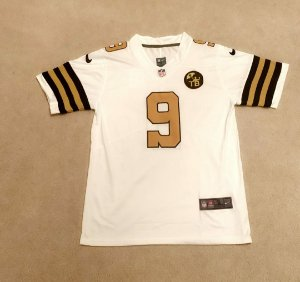 Camisa New Orleans Saints - 9 Drew Brees - 13 Michael Thomas - 41 Alvin Kamara - 94 Cameron Jordan - Color Rush