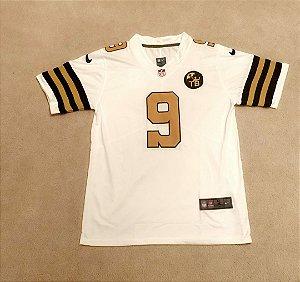 Camisa New Orleans Saints - 9 Drew Brees - 13 Michael Thomas - 41 Alvin Kamara - 94 Cameron Jordan - Color Rush