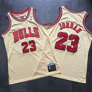 Camisa Chicago Bulls - Hardwood Classics - 23 Michael Jordan - Premium