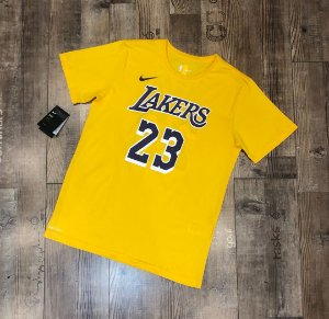 Camisa los Angeles lakers - 23 LeBron James - com mangas