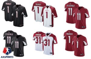Camisa Arizona Cardinals - 3 Carson Palmer - 11 Larry Fitzgerald - 1 Kyler Murray - 31 David Johnson
