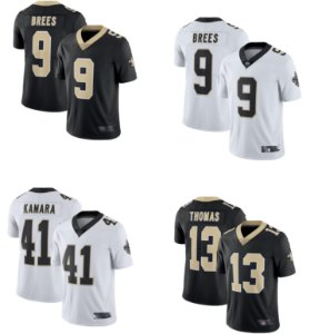 Camisa New Orleans Saints - 9 Drew Brees - 41 Alvin Kamara - 13 Michael Thomas