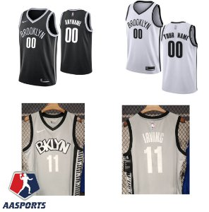 Camisa Brooklyn Nets - 11 Kyrie Irving - 7 Kevin Durant